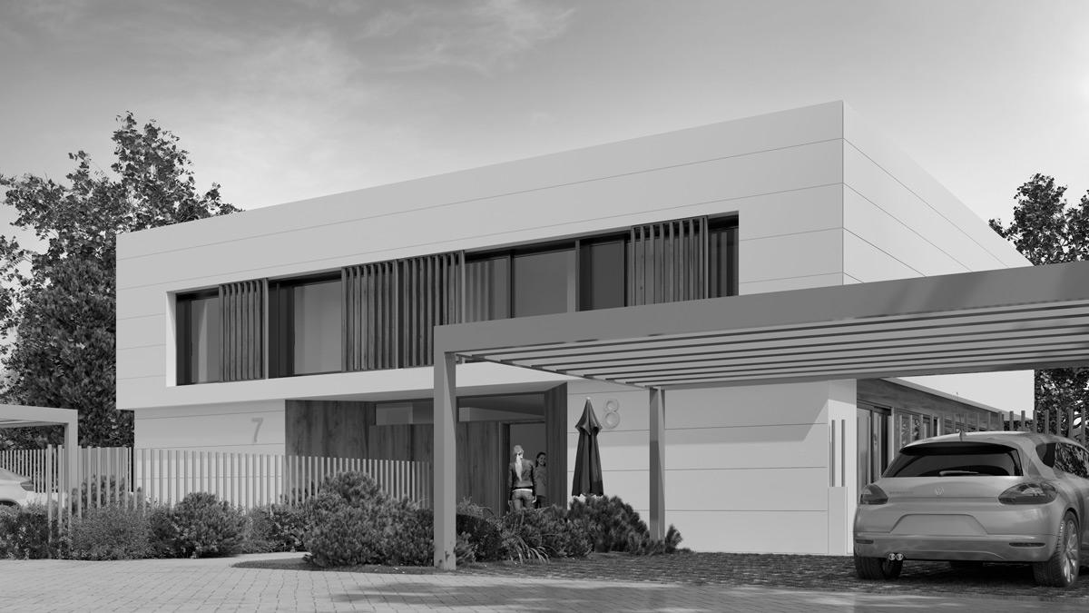 Casa industrializada Tinné I